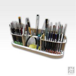 Hobbyzone Postazione per pennelli e utensili, dimensioni cm 15x14x10