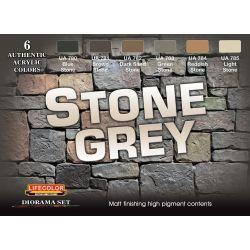 Life Color Stone Grey DIORAMA SET