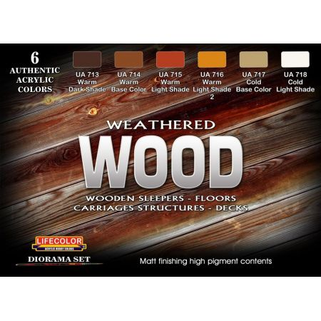 Life Color WEATHERED WOOD