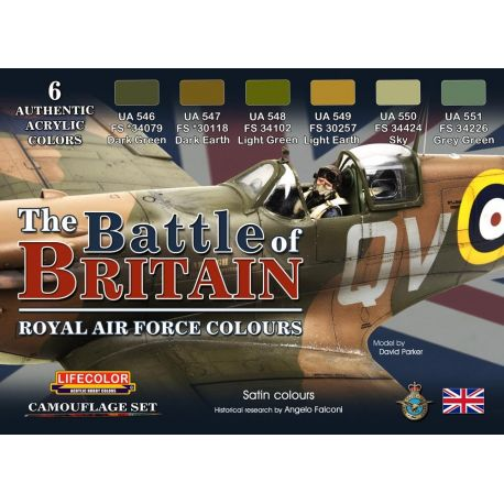 """Life Color The Battle of Britain """"Royal Air Force Colours"""""""