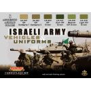 Life Color Israeli Army- vehicles & uniforms