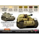 Life Color GERMAN WWII TANKS SET1