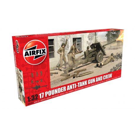 AIRFIX A06361 17 Pdr Anti-Tank Gun 1:32