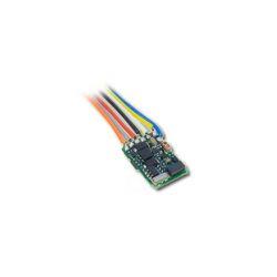 LENZ 10310-02 DECODER SILVER MINI +0.5/0.8A  CON FILI