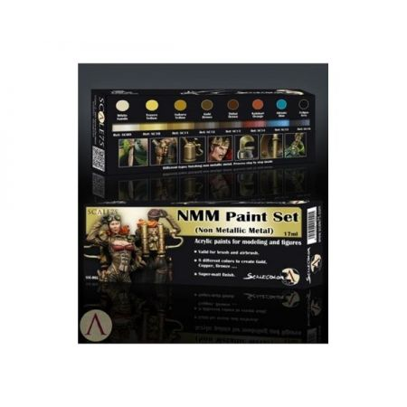 SCALE75: NMM Paint Set (Non Metallic Metal) Gold