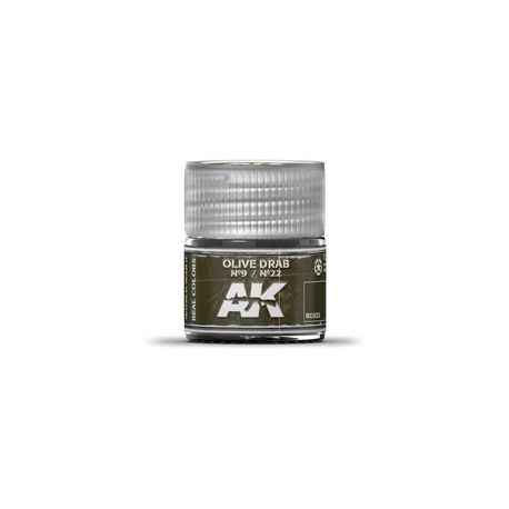 AK REAL COLORS OLIVE DRAB Nº9 / Nº22