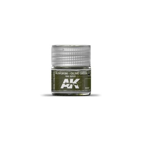 AK REAL COLORS OLIVE GREEN RAL 6003