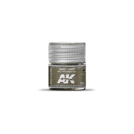 AK REAL COLORS GREY RAL 7003