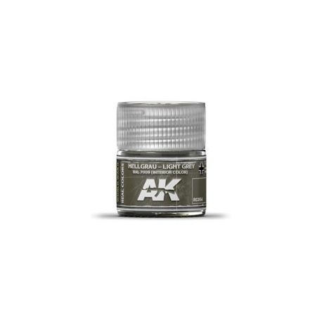 AK REAL COLORS LIGHT GREY RAL 7009