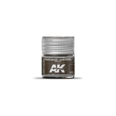 AK REAL COLORS DARK BROWN RAL 7017