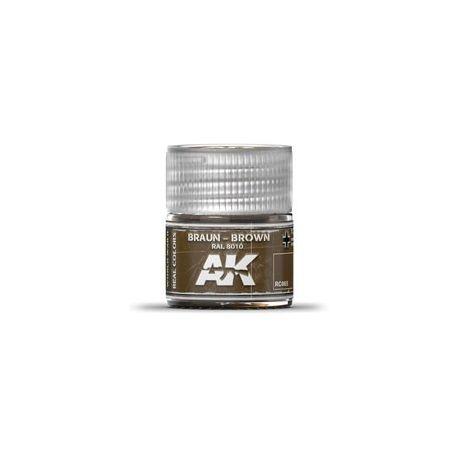 AK REAL COLORS BROWN RAL 8010