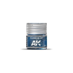 AK REAL COLORS TRASPARENTE BLUE