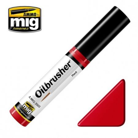 AMMO OF MIG: OILBRUSHER colore ROSSO