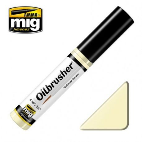 AMMO OF MIG OILBRUSHER YELLOW BONE