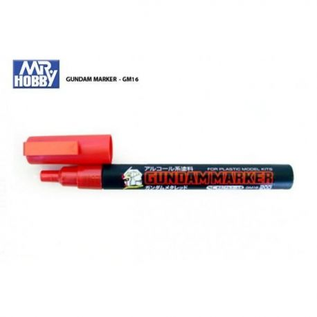 MR HOBBY GUNDAM MARKER METALLIC RED GM16