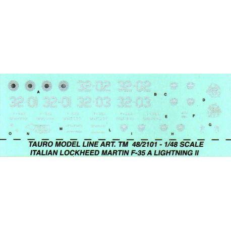 TAURO MODEL 482101 LOCKHEED-MARTIN F-35 LIGHTNING II - 32° STORMO