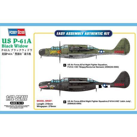 HOBBY BOSS 87261 US P-61A Black Widow
