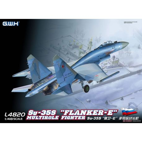 """Great Wall Hobby L4820 Su-35S """"Flanker-E"""""""