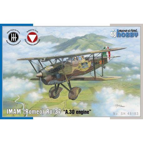 """Special Hobby 48183 IMAM (Romeo) Ro.37 """"A30 engine"""" 1/4"""