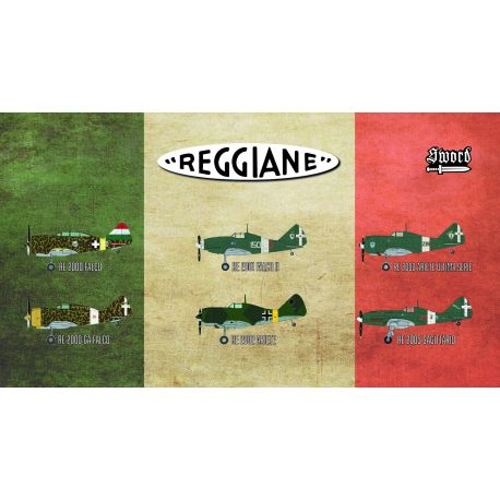 SWORD 72110 Reggiane Fighters- Limited Edition