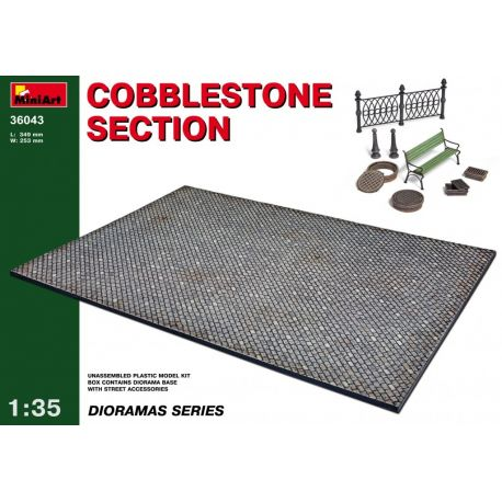 Miniart 36043 COBBLESTONE SECTION