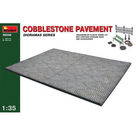 Miniart 36046 COBBLESTONE PAVEMENT