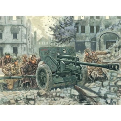 ITALERI 6097 ZIS 3 AT ANTI TANK GUN WITH SERVANTS