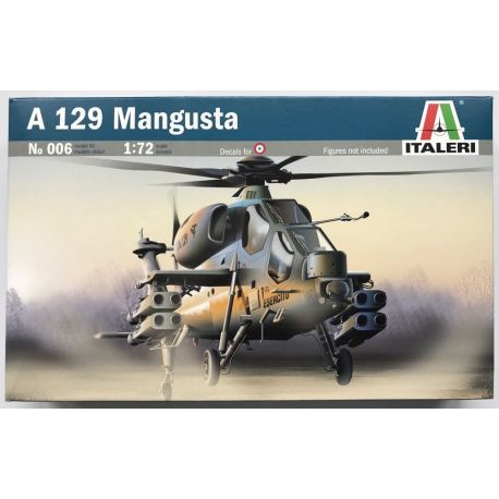 ITALERI 006 HELICOPTER A-129 MANGUSTA