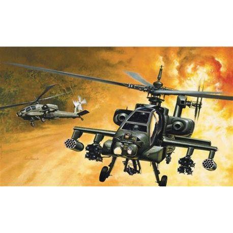 ITALERI 159 AH-64 Apache elicottero