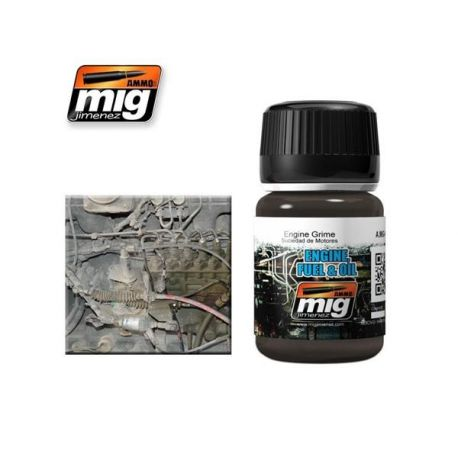 AMMO OF MIG: engine grime