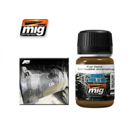 AMMO OF MIG: colature di carburante
