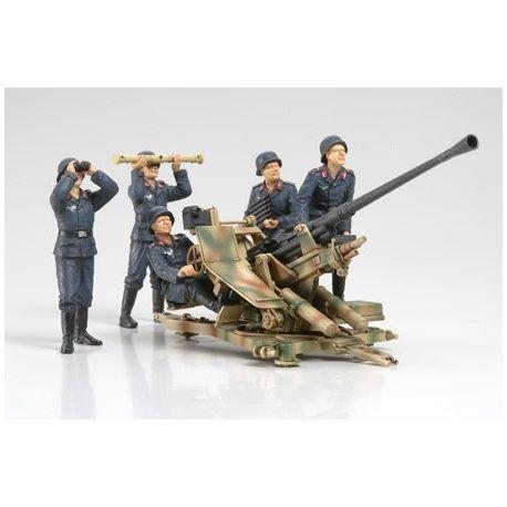TAMIYA 35302 13.7CM FLAK37 ANTI-AIRCRAFT GUN - W/CREW SET