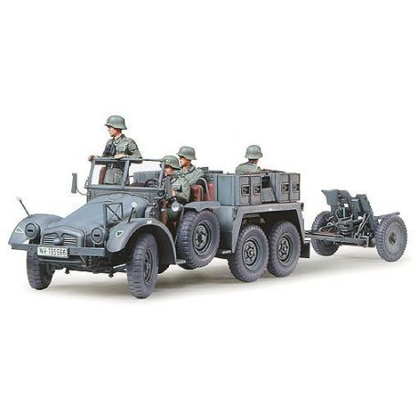 TAMIYA 35259 KRUPP TOWING TRUCK W/37MM PAK