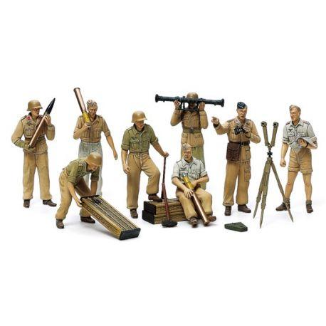 Tamiya 35343 German Africa Corps Luftwaffe Artillery Crew Set