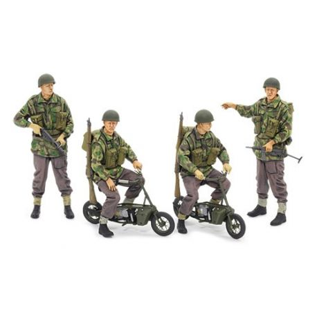 Tamiya 35337 British Paratroopers - w/Small Motorcycle