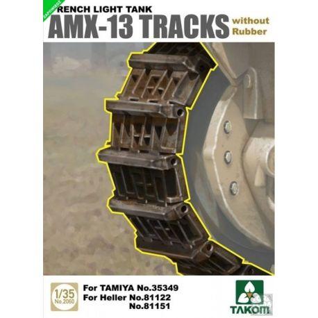 Takom 2060 AMX-13 tracks without Rubber