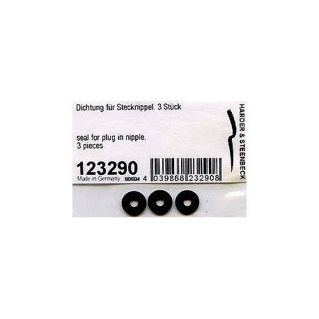 "Harder & Steenbeck 123290 Seal for plug in nipple G 1/8"" Evolution Infinity Grafo"