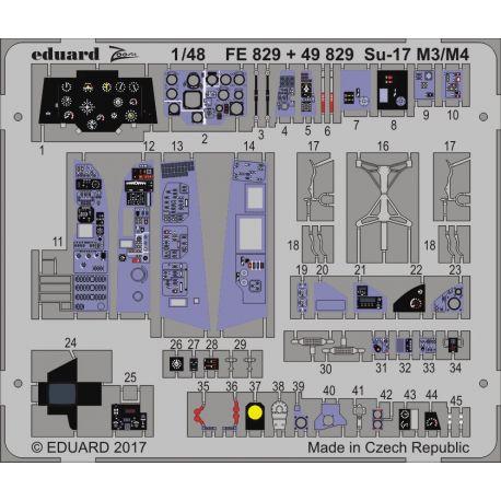 Eduard 49829 Su-17 M3/M4 interior