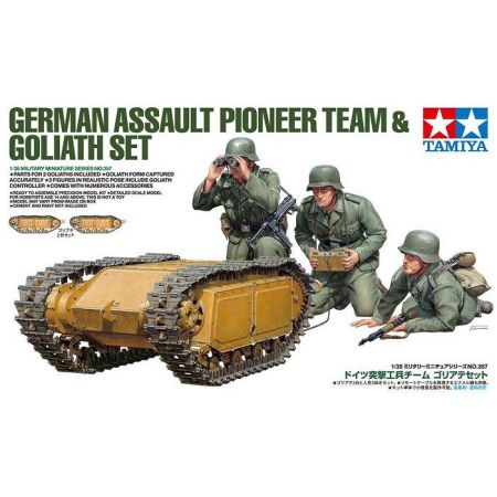 TAMIYA 35357 GERMAN PIONEER & GOLIATH SET