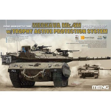 MENG MODEL TS036  Israel Main Battle Tank Merkava Mk.4M w/Trophy Active Protection System