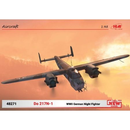 ICM 48271 Do 217N-1 WWII German Night Fighter
