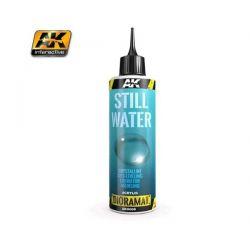 AK INTERACTIVE 8008 resina mono componente per effetto acqua - 250ml (Acrilico)