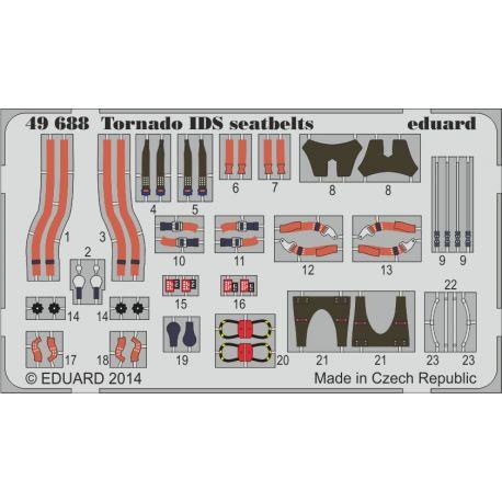 Eduard 49688 Tornado IDS seatbelts 1/48