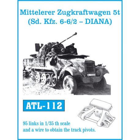 FRIULMODEL ATL-112 Mitteleler Zugkraftwagen 5t ( Sd. Kfz. 6-6/2 - DIANA)