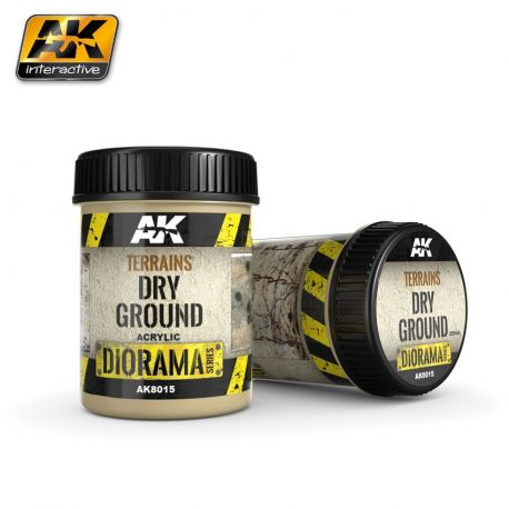 AK INTERACTIVE 8015 TERRAINS DRY GROUND 250ML