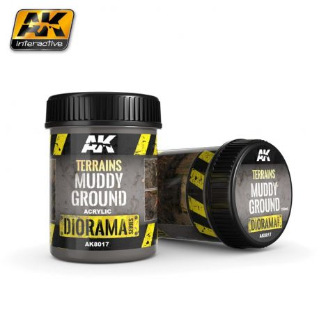 AK INTERACTIVE 8017 TERRAINS MUDDY GROUND 250ML