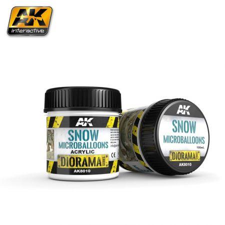AK INTERACTIVE 8010 SNOW MICROBALLOONS 100ML