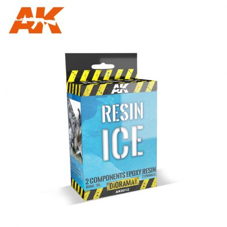 AK INTERACTIVE 8012 RESIN ICE 120+ 30 ML