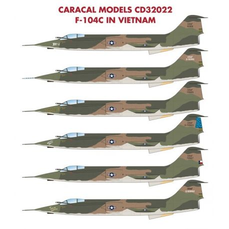 CARACAL 32022 Lockheed F-104C in Vietnam