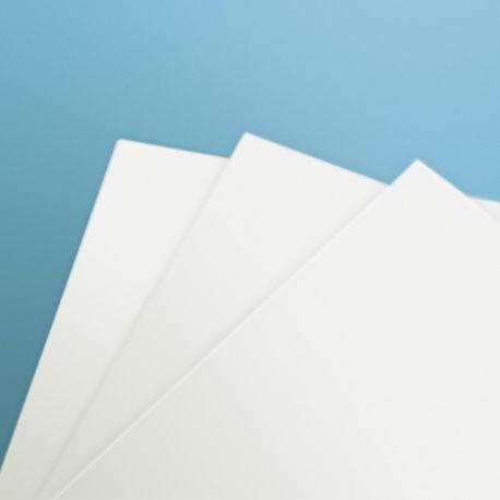 AMATI 2330/03 WHITE FOREX thickness 3 mm Lyxfoam mm. 300x500